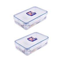2 X Lock & Lock Rectangular Food Container 800ml(27.1oz) - $24.74