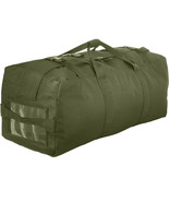 Olive Drab Duffle Bag & Double Strap Backpack Tactical Duffel Military Army - $36.99