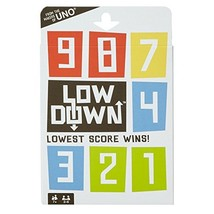 Mattel Games Low Down Card Game - $11.23