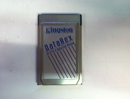 Kingston Technology I14HA DataRex 14.4 Data/Fax Modem Network No Cable PCMCIA - $10.00