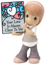 NEW Precious Moments Your Love is Always Clear to Me Figurine - $13.59