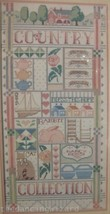 Country Collection Sealed Counted Cross Stitch Kit 10x20 Dimensions 1986 - $17.99