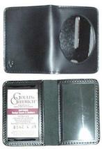 "Duty 2 3/8"" Oval External Badge Holder & 2 ID Cards Gould & Goodrich - $14.75"