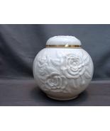 Vintage Lenox Rosebud Collection Ginger Jar - Circa 1970's - $32.00