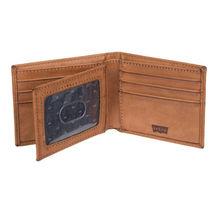 Men's Levi's RFID-Blocking Extra-Capacity Credit Card ID Tan Slimfold Wallet image 5