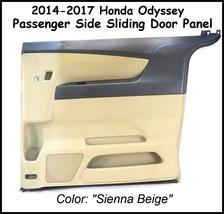 2014-2017 Honda Odyssey Sienna Beige RH Sliding Door Interior Trim Garnish Panel - $98.95