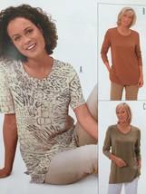 Burda Sewing Pattern 8998 Misses Ladies T-Shirt Size 10-24 New - $13.41