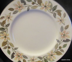"Beaconsfield 8 1/8"" Salad Plate Made in England by Wedgwood Silver Trim Floral - $19.95"