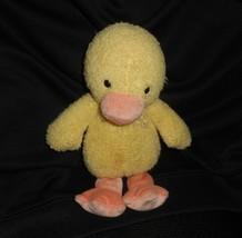 "9"" Carter's 7725 Fluffy Friends Yellow Duck Chick Stuffed Animal Plush Toy Soft - $55.17"