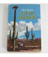 Walt Disney's Living Desert, Jane Werner Weekly Reader Hardcover Book Tr... - $8.99