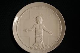 Vtg 1970 Frankoma Pottery~King Of Kings~Christmas Plate~By John~Mint - $11.97