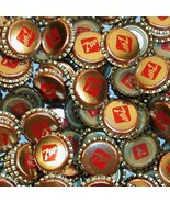 Soda pop bottle caps Lot of 12 plastic lined 7 UP unused and new old stock - $5.39