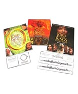 3 NEW Lord Of The Rings BOOKS 1 Creature Guide 2 Photo Guides 5 Temporar... - $19.99