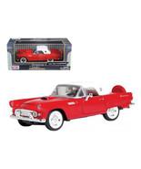 1956 Ford Thunderbird Red 1/24 Diecast Car Model by Motormax 73312r - $29.95