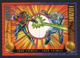 1993 SkyBox Marvel X-Men II Art 2 Card Set SIGNED Al Milgrom ~ Bishop vs Fitzroy - $24.74