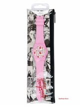 Brand New With Tags GUESS Women Watch Printed Pink Analog U0979L20 - $46.71