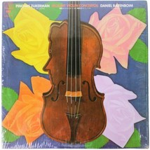 PINCHAS ZUKERMAN Mozart Violin Concertos 1 & 3 LP In Shrink Columbia Mas... - $14.01