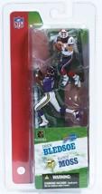 Drew Bledsoe Buffalo Bills Randy Moss Minnesota Vikings McFarlane 2 Pack Figures - $18.55