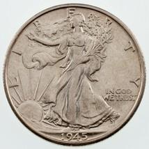 1945-S 50C Marche Liberty Demi Dollar Choix Bu, Excellent Oeil Appeal - $59.55