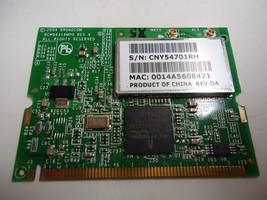 Broadcom BCM94318MPG BCM4318 b/g Mini PCI Wireless Card For HP Laptops B... - $6.38