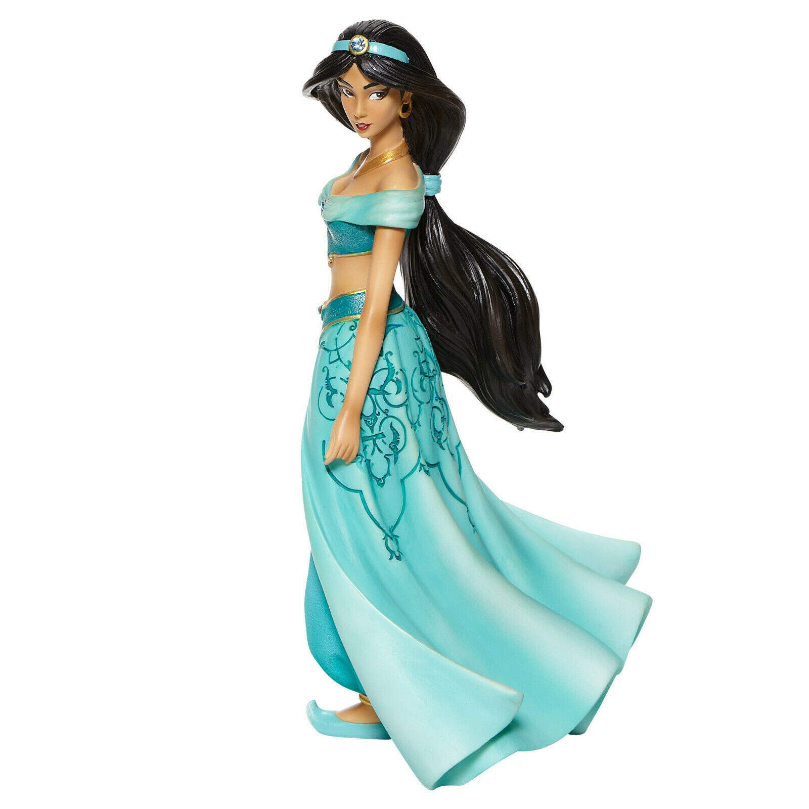 "8.25"" Tall Stunning Jasmine Figurine Aladdin - Disney Showcase Collection"
