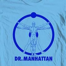 The Watchmen Dr. Manhattan T-shirt DC Comics  retro graphic novel tee WBM118 image 1