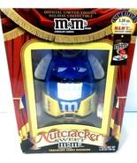 M&M BLUE Nutcracker Sweet Candy Dispenser New...see photos - $29.01