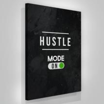 "Hustle Mode Canvas Print Office Wall Decor Modern Art Entrepreneur 48"" x... - $172.75"