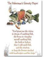 Leanin' Tree THE FISHERMAN'S SERENITY PRAYER Flex Magnet  - $5.49