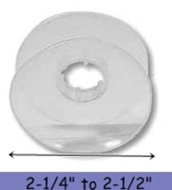8 Flexible Plastic BOBBINS for KUMIHIMO Braidin... - $7.09