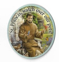 St Francis Watch Over Our Pets Refrigerator Magnet  - $4.94