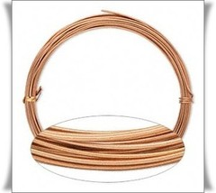 ALUMINUM CRAFT WIRE 16ga COPPER 50 ft Coil ~ Flexible ~ Wrapping Type 16 ga - $8.13