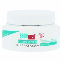 Sebamed Extreme Dry Skin Relief Face Cream 5% Urea. 1.7 oz