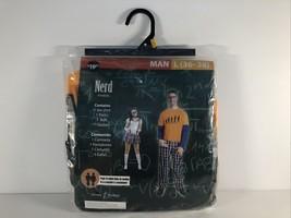 """""""NERD"""" Mens Costume Size L (36-38) Halloween Costume Nerd - $14.85"""