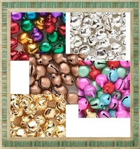 Lot 500 Jingle Bells ~ You Pick From 5 Colors + 2 Sizes - $18.76