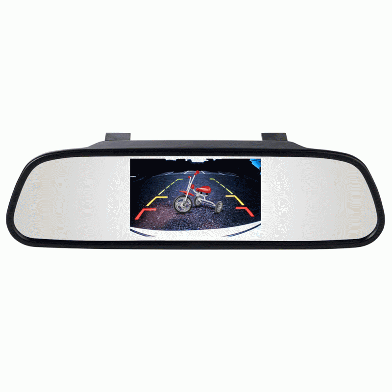 "iBeam TE-CM43 4.3"" Digital LCD  Rear-View Mirror Monitor W TE-SS BACKUP CAMERA"