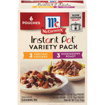 McCormick Instant Pot Chicken & Beef, Variety Pack (6 pk.) - $15.67