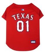 Texas Rangers Dog Jersey S Small MLB Baseball Licensed Pet Wear Apparel ... - $21.52