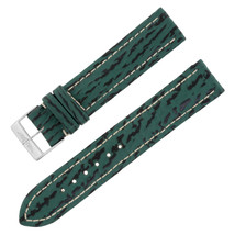 Breitling Y999 18-18mm Genuine Leather Green Unisex Watch Band w. Buckle - $249.00