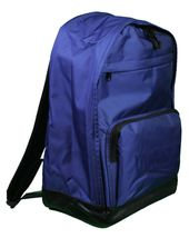 WeSC We Superlative Conspiracy Cullen Deep Ultramarine Blue Backpack School Bag image 4