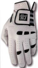 HJ Mens AllSoft Golf Glove Large Left Hand Stone Gray Bonanza
