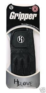 HJ Mens Gripper Golf Glove  Small Left Hand Black Bonanza