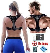 GoVitalis Premium Posture Corrector for Men Women: German Brand Quality, Comfort