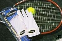 Advantage Womens Half-finger Tennis Glove  LH Medium Bonanza