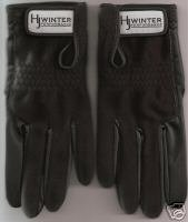 HJ Winter Golf Gloves Ladies Size Med/Large Pair Black Bonanza