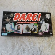 Vintage Parker Brothers Dare Adults Board Game Complete 4 To 8 Players - $9.89
