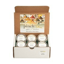 Indian Masalas Gift Box   6 Authentic Indian Spice Blends - $36.62