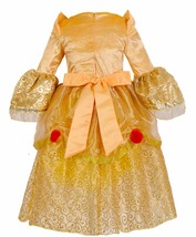 D beast cosplay dresses for girls belle princess kids girls costume dress christmas  2  thumb200