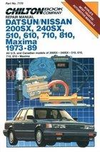 Chilton's Repair Manual Datsun/Nissan 200Sx, 240Sx, 510, 610, 710, 810, ... - $3.99