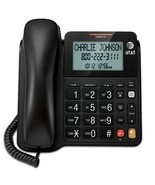 AT&T CL2940 Corded Phone with Speakerphone, Extra-Large Tilt Display/Buttons - $20.95